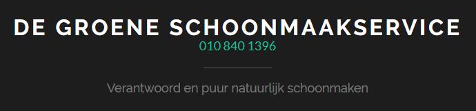 Deskundige schoonmaker Rotterdam gewenst? Maak afspraak met De Groene Schoonmaakservice